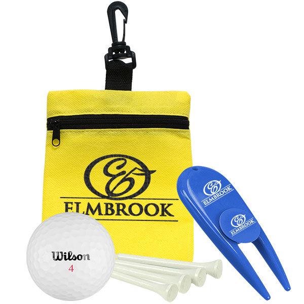 Branded Golf Ball Tee Kit