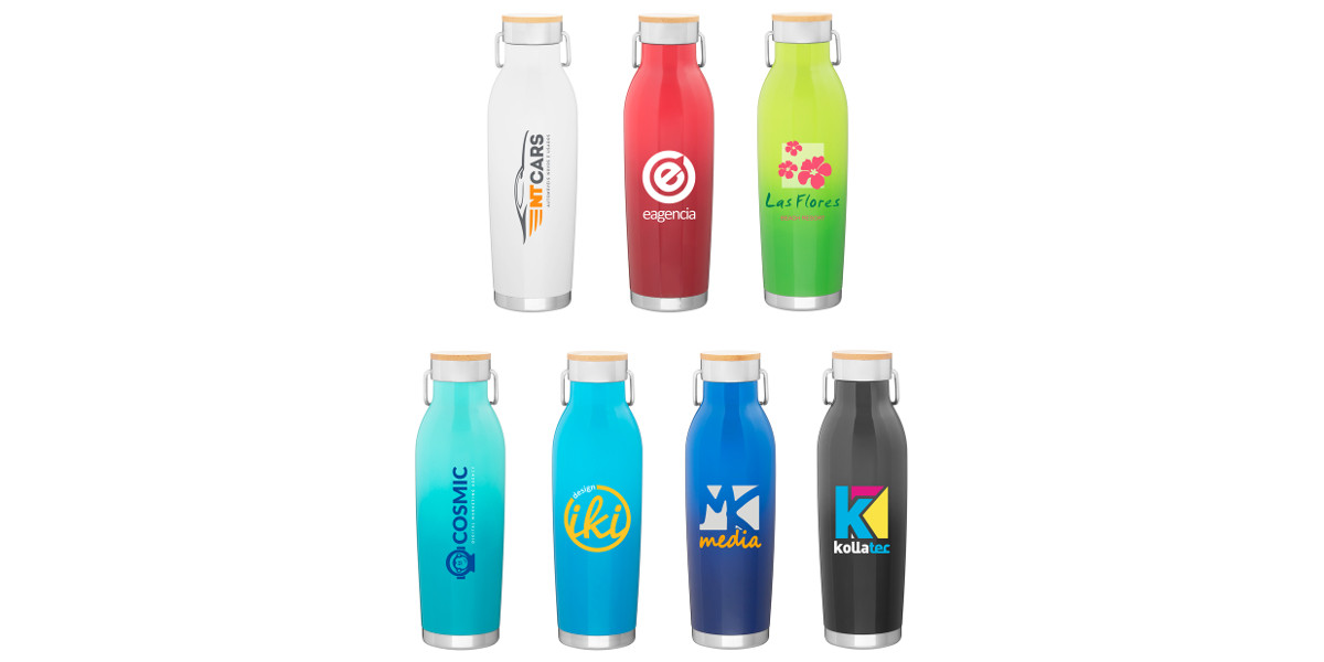 Wave Branded Insulated Bottle