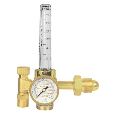 Gentec Argon Regulator c/w Flowmeter