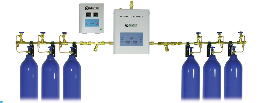 Gentec 5500 Series Medical Gas Automatic Manifold Changeover System