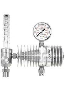 Gentec CO2 Regulator c/w Flowmeter & Radiator