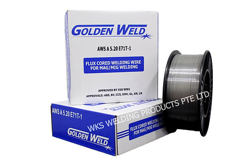 Goldenweld E71T-1 Flux Cored Wire