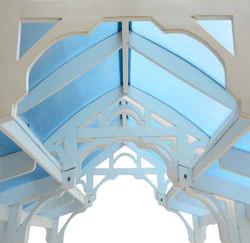 Custom conservatory entrance