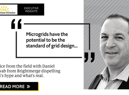 On the ground industry intelligence: the microgrid model
