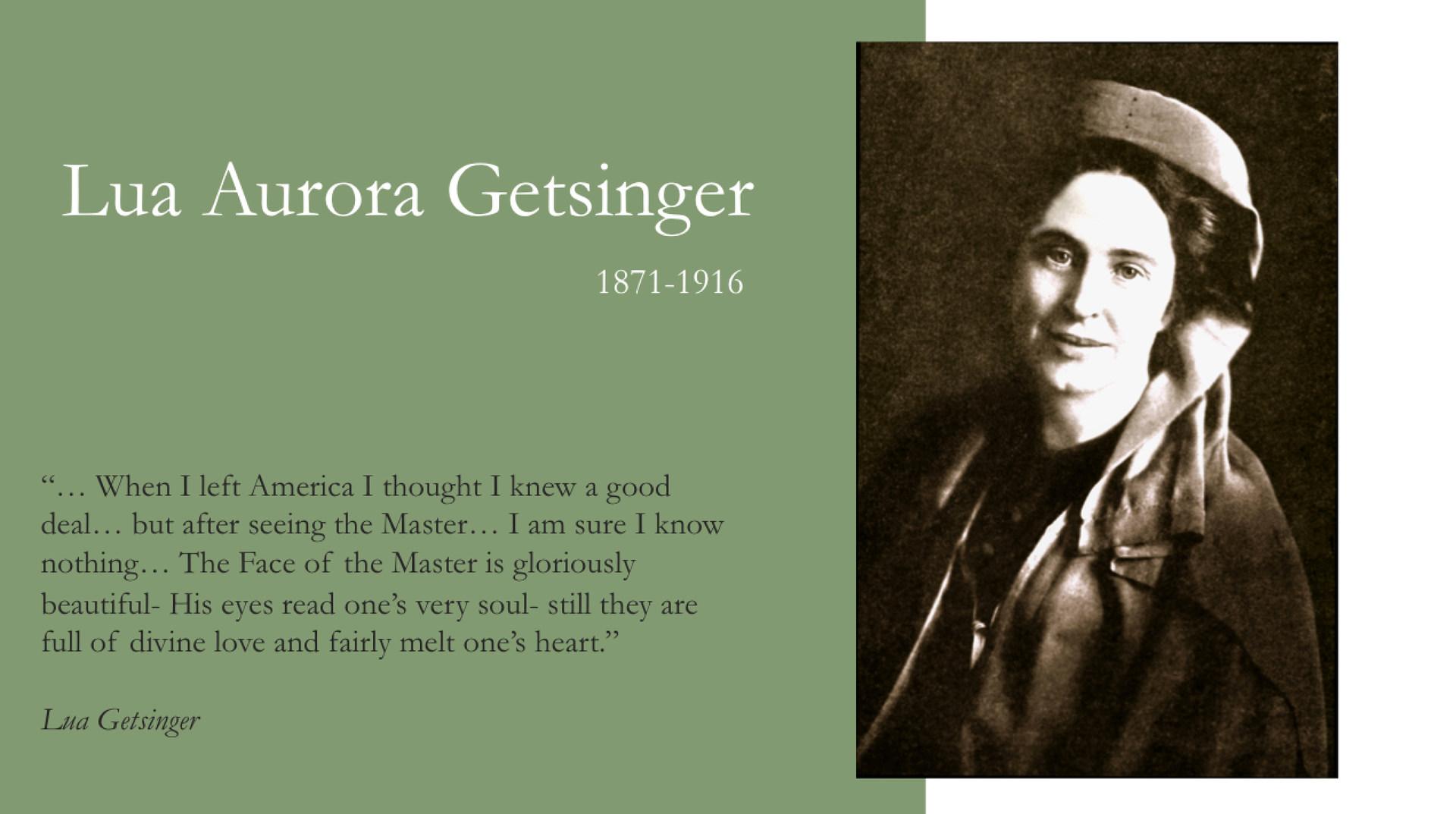 Lua Getsinger