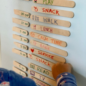 A Movable Magnetic Daily Schedule