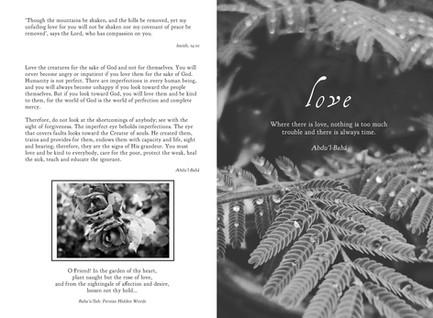 """""""Love"""" Devotional"""