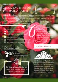 A4 Baha'i Quick Facts