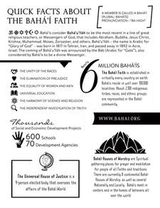 A4: Baha'i Quick Facts