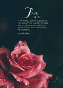 True Faith : A4