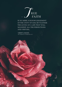 True Faith : A4