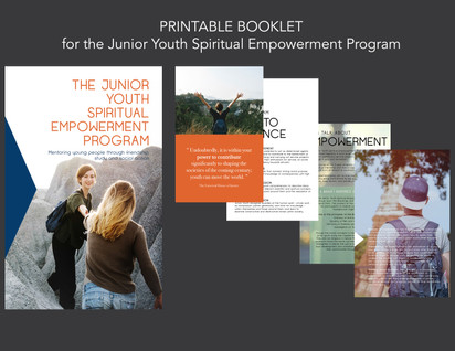 Jr. Youth Empowerment Booklet
