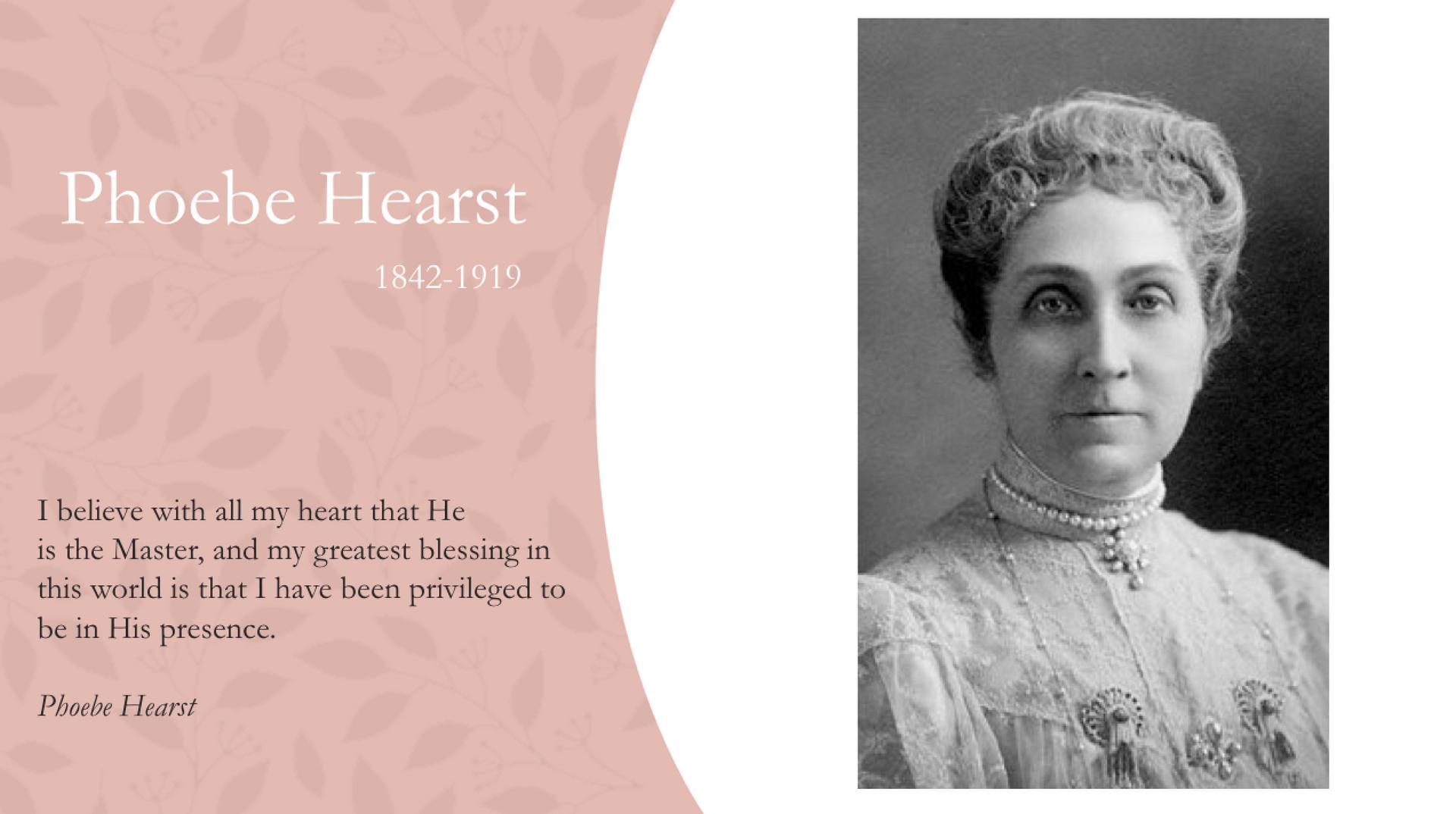 Phoebe Hearst