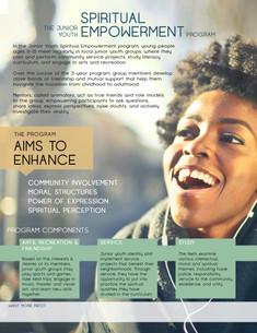 Flyer : Junior Youth Program