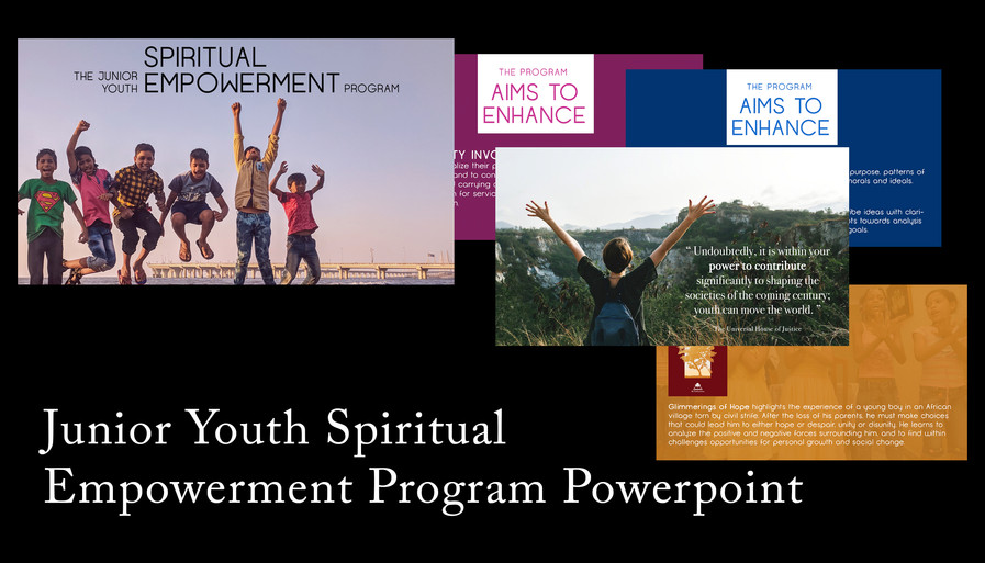 Junior Youth Program Powerpoint