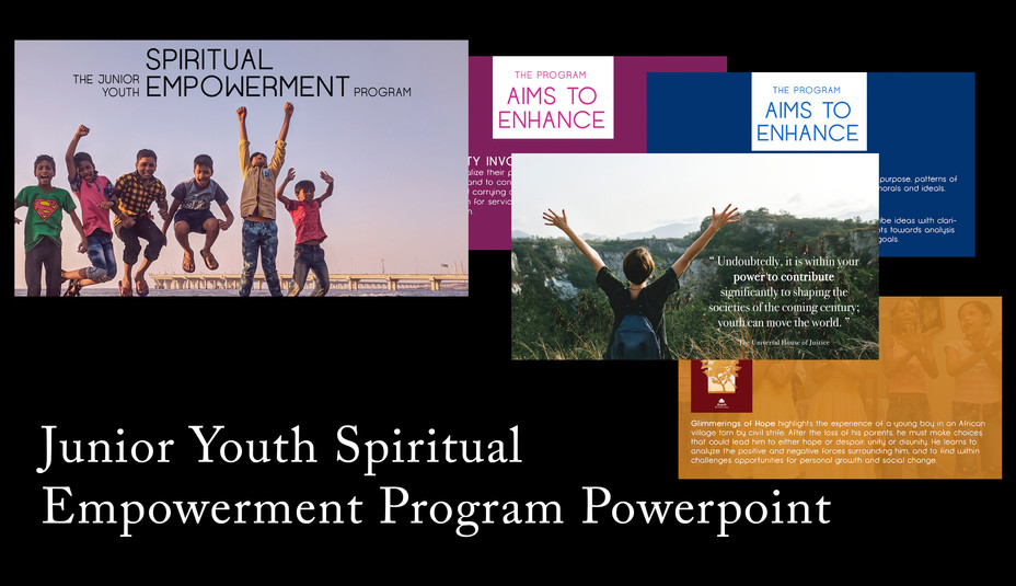Junior Youth Program Powerpoint