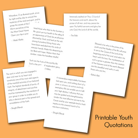 Printable Quotations on Youth