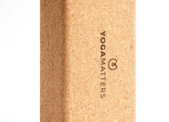 Yogamatters Cork Brick