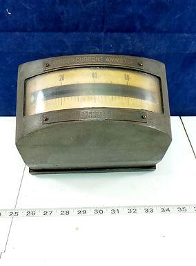 General Electric Direct Current Ammeter Gauge