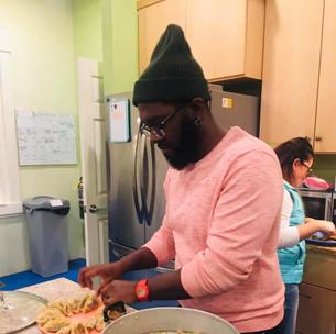 food making pink sweater.jpg