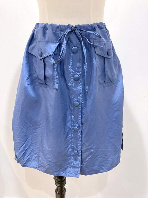 Drawstring Blouse Skirt