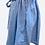 Thumbnail: Denim Drawstring Shirt/Skirt