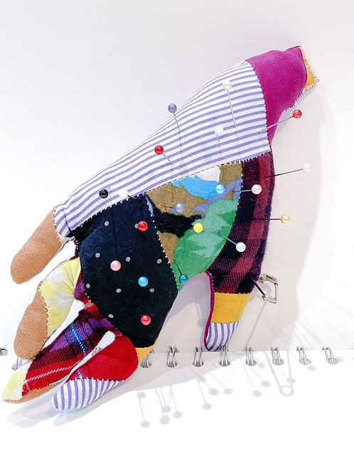 "Patchwork ""Thing"" Pin Cushion"