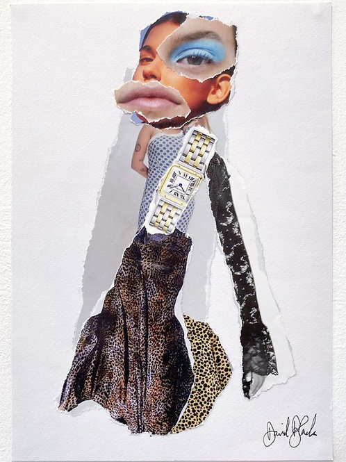 Fashion Magazine Collage