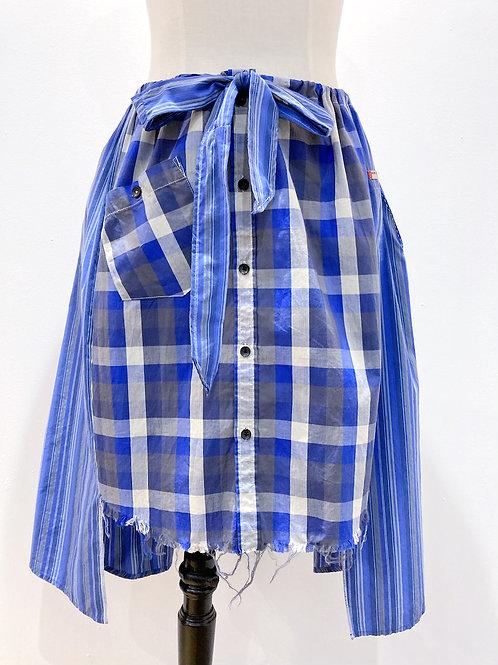 Drawstring Shirt/Skirt with Pockets