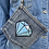 Thumbnail: Recycled Denim Jean Pocket Purse/Pouch