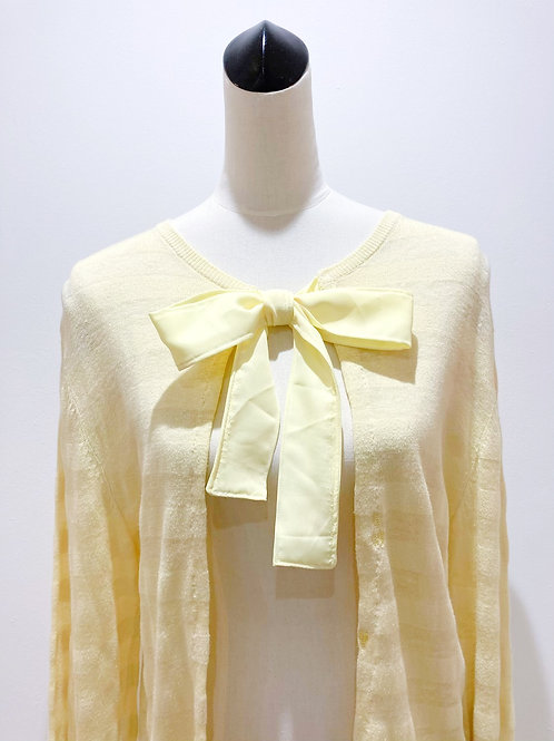 Jumper/Cardigan with Bow
