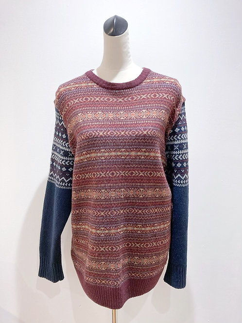 Swapped Sleeve Jumper