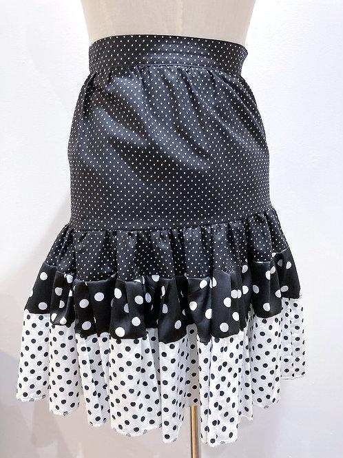 High Waisted Ruffle Skirt
