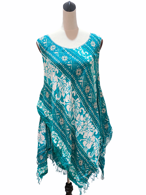 Reworked Scarf Top