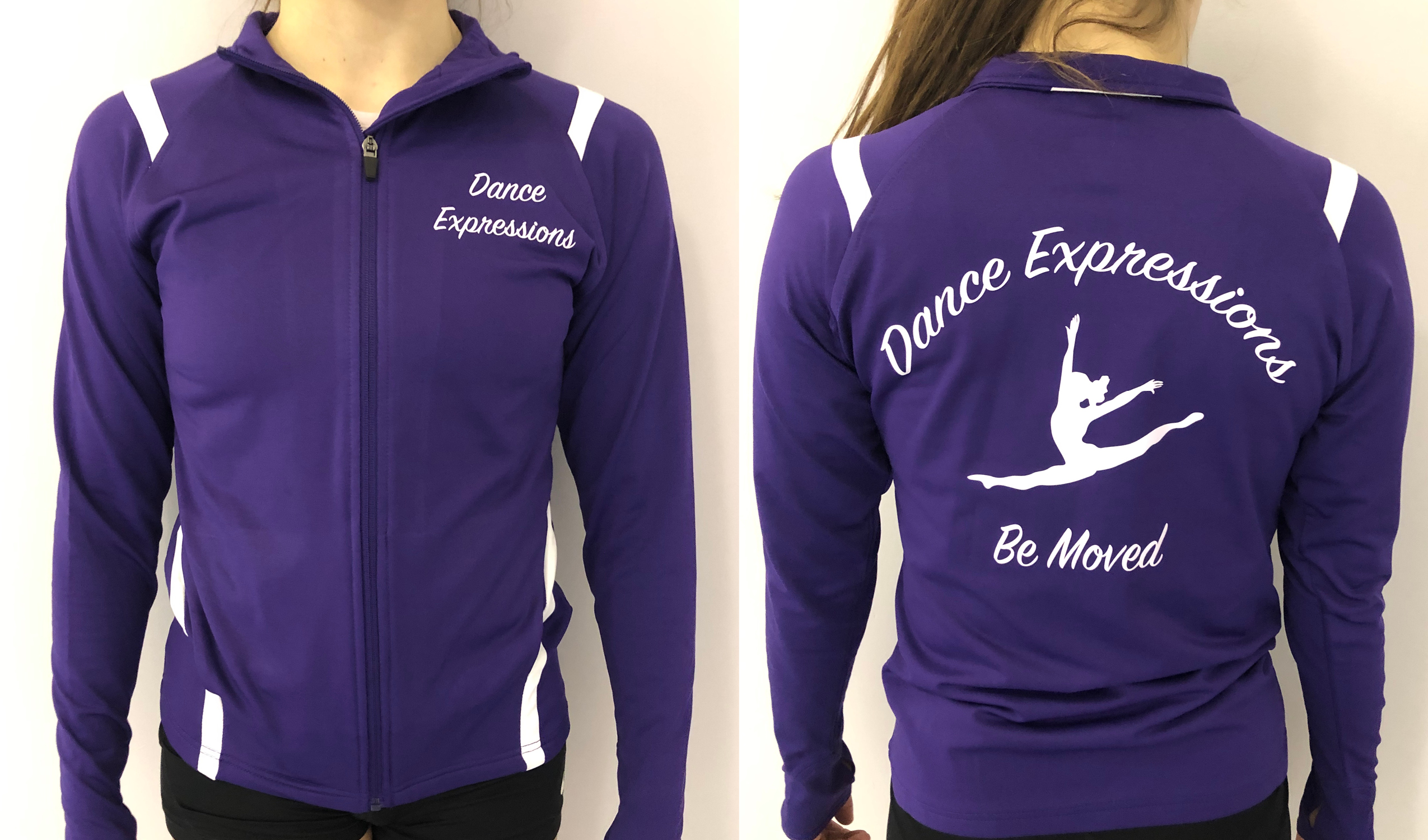 Purple Team Jacket
