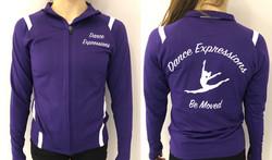Purple Team Jacket