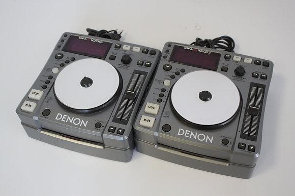 2x CDJ Denon DNS-1000