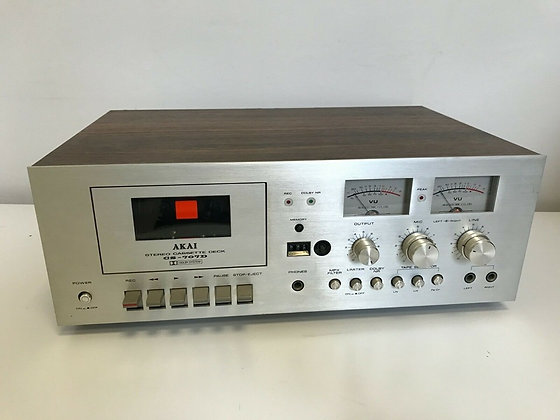 Tape Deck / Piastra Akai CS 707D