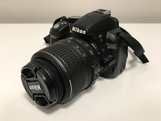 Nikon D3100 + 18-55mm + Borsa Case Logic