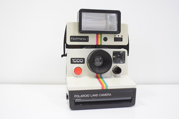 Polaroid Land Camera 1000 + Polatronic 1