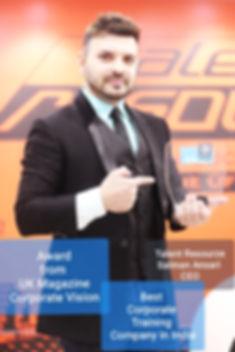 in UK Magazine Salman Ansari CEO Talent