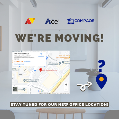 We are moving!