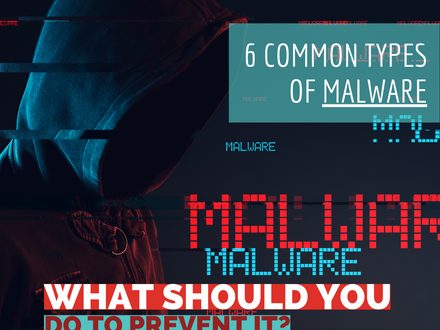6 Common Types of Malware