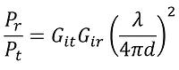 Friis equation