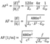 antenna factor generic calculation