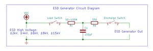 ESD generator