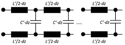 Lossless transmission line