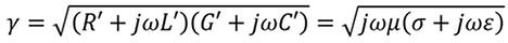 propagation constant formula