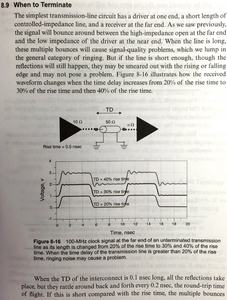 When to terminate [Signal and Power Integrity - Simplified, Eric Bogatin]