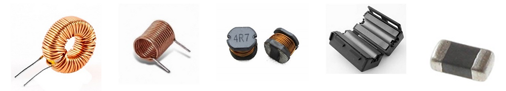 Different types of inductors